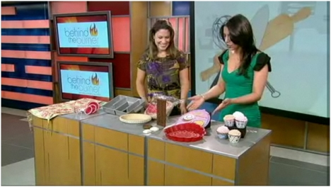 Zanda Panda Bakeware featured on NBC New York's 'Behind the Burner'!