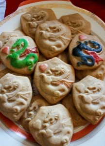 (Heather's) Khaleesi's Dragon Cookies